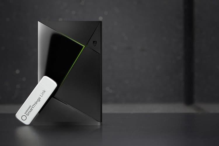 Samsung SmartThings Link rüstet Nvidia Shield zum Smart Home-Hub um
