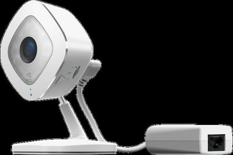 Abbildung der Arlo Q Plus Sicherheitskamera von Netgear