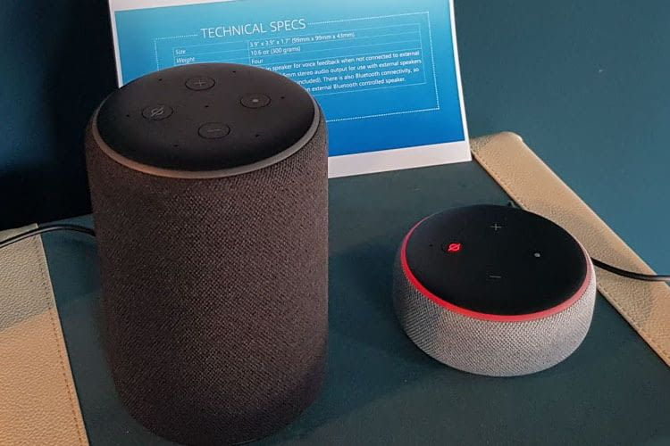 Mit den Amazon Echos kann man via Drop In Funktion mit Freunden und Familienmitgliedern telefonieren