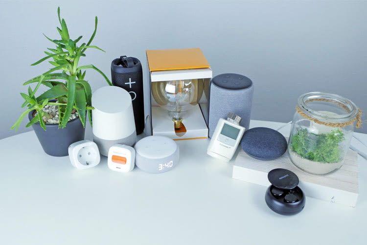 Bei der Hausautomation werden verschiedene Geräte zentral gesteuert
