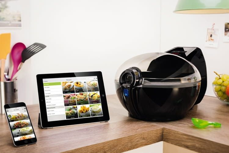 Die App überträgt alle Kochparameter automatisch auf die Fritteuse
