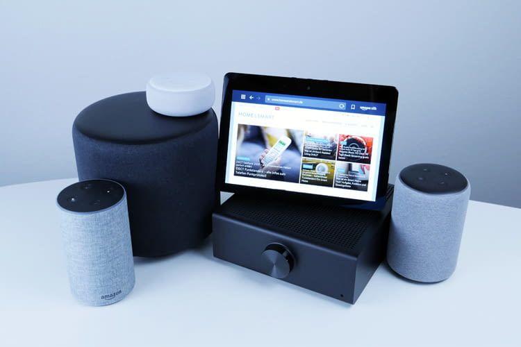 Die Alexa Sprachsoftware ist auf vielen Echo Lautsprechern und immer mehr Haushaltsgeräten zu finden