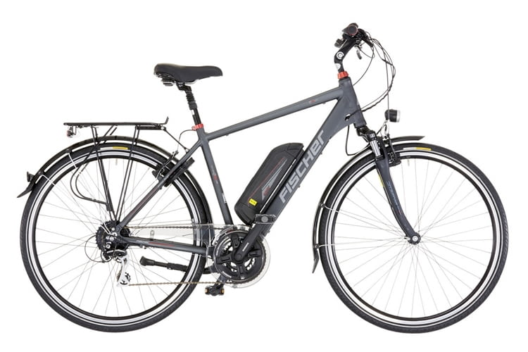 Das FISCHER Trekking-E-Bike ETH 1606 für Herren im Test-Überblick