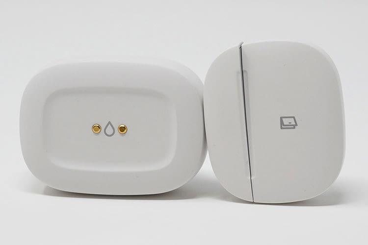 Samsung SmartThings bietet beispielsweise unauffällige Wasser-, Fenster- und Türensensoren