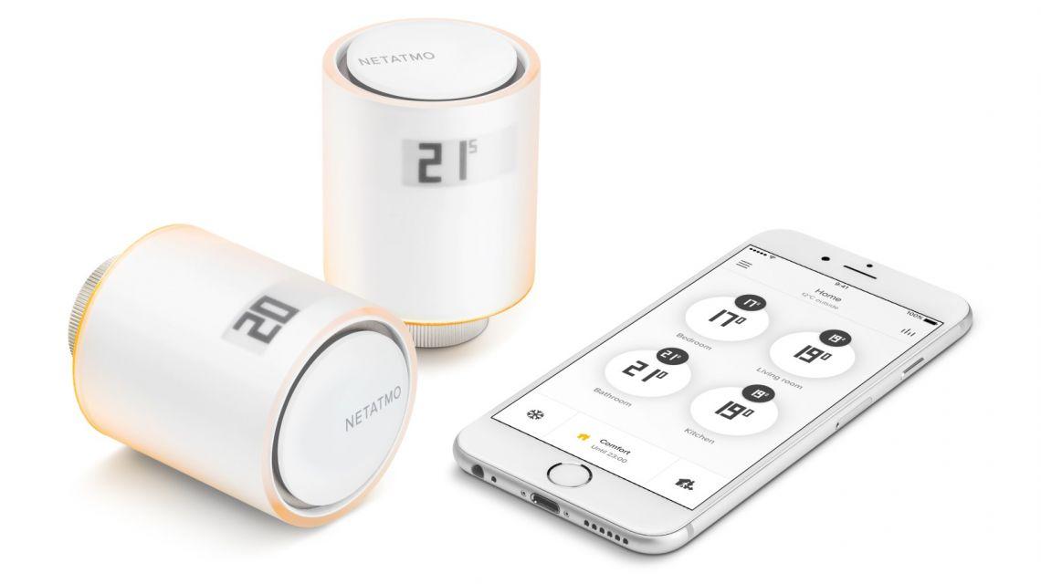 iPhone App für das Netatmo Heizkörperthermostat