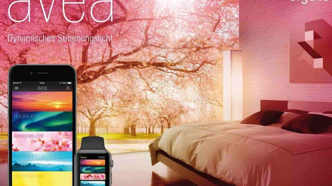 Dynamische Lichtszenen mit Elgato Avea im Schlafzimmer