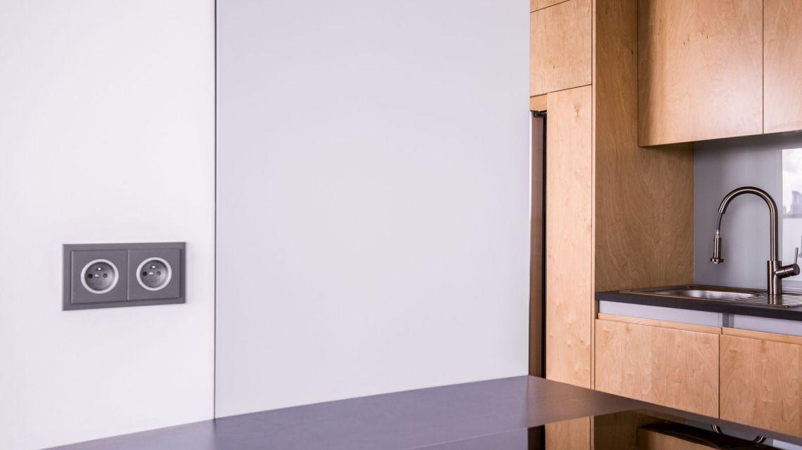 Räume Küche Komfort Steckdose