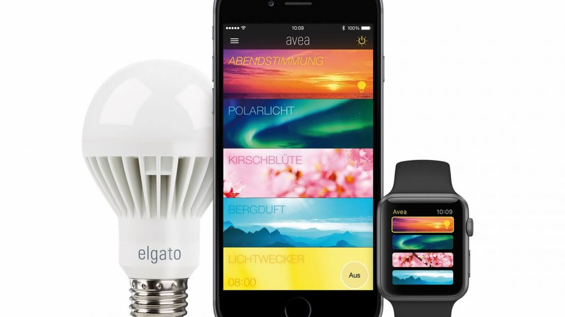 Elgato Avea LED mit Smart Devices