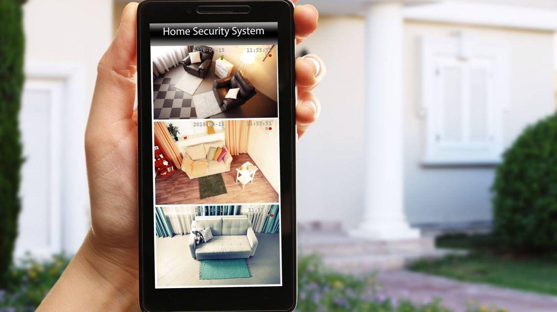 Bei Bewegung schickt SpotCam Screenshot an Smartphone
