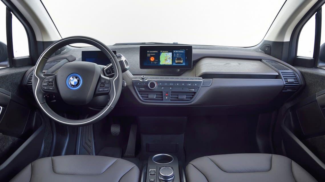 Die Innenausstattung des BMW i3s - sportlicher als beim BMW i3