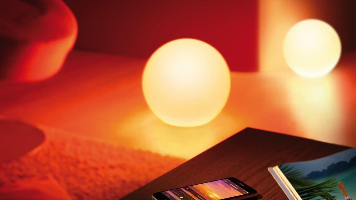 Intelligent vernetzte Elgato Avea LED Lampen