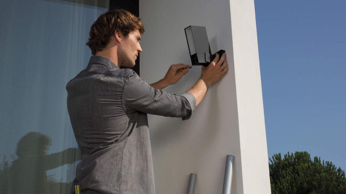 Installation von Netatmo Presence Kamera