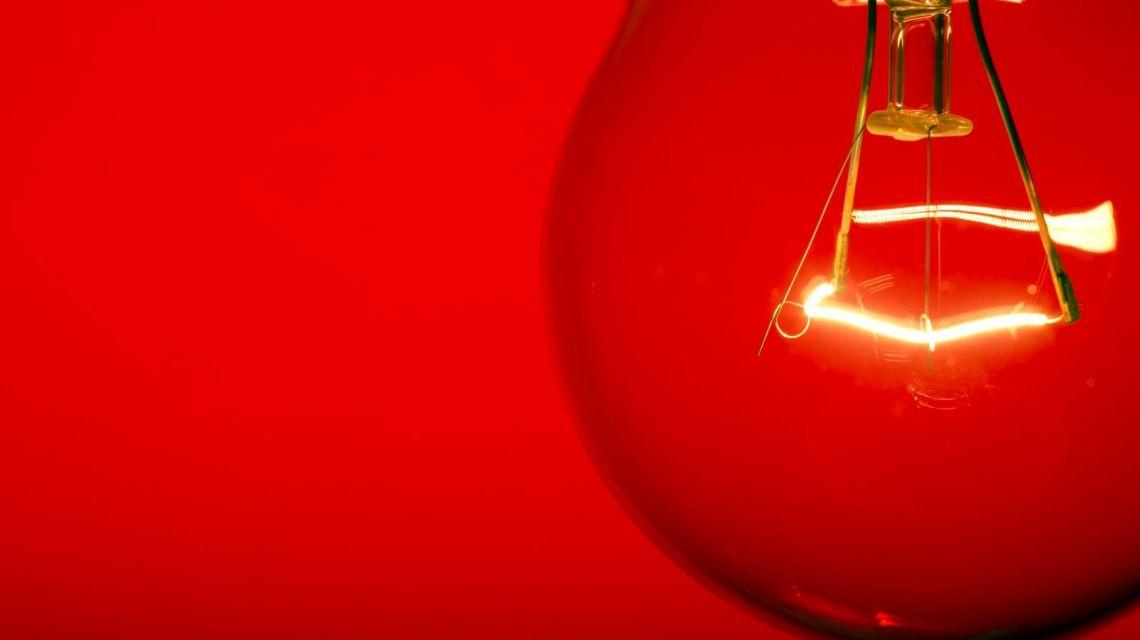 Rotes Licht wenn unbekannte Person gesehen wird
