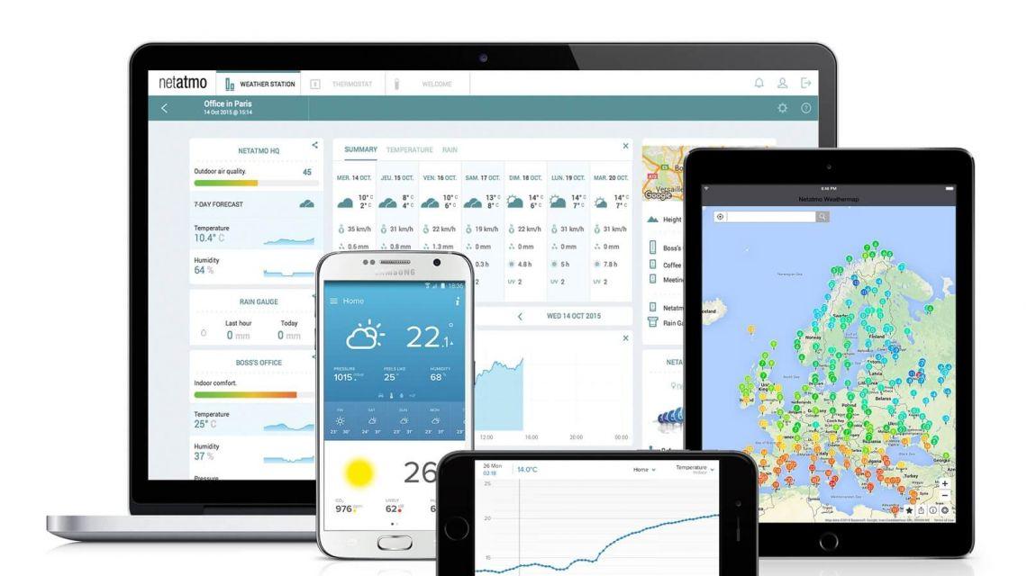 Netatmo Wetterstation Devices