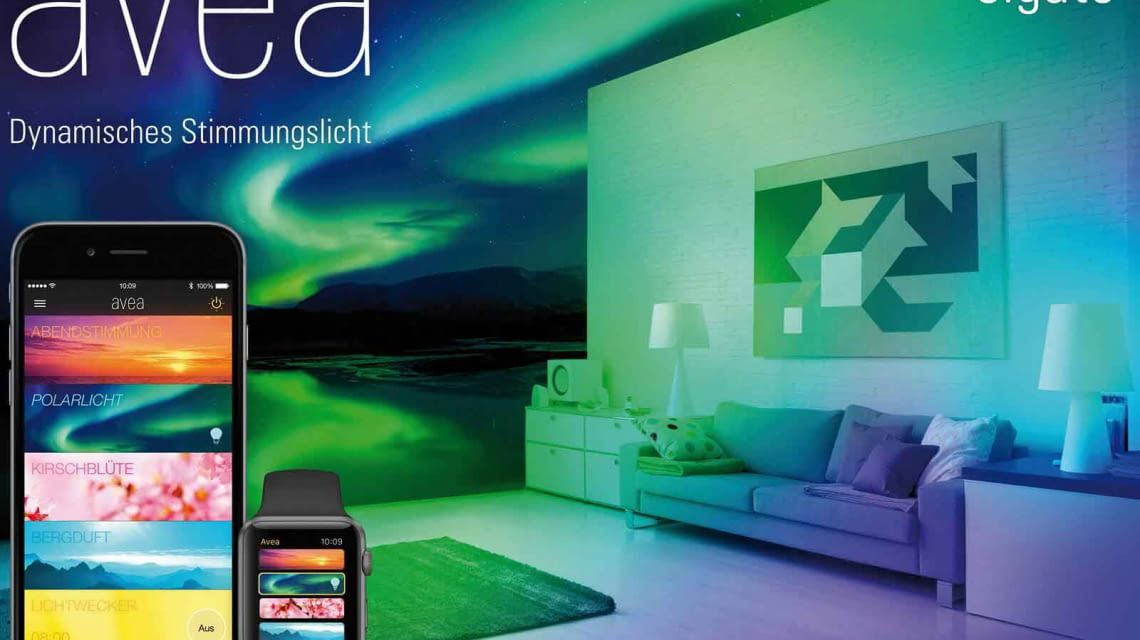 Individuelle Lichtstimmung mit Elgato Avea im Wohnzimmer