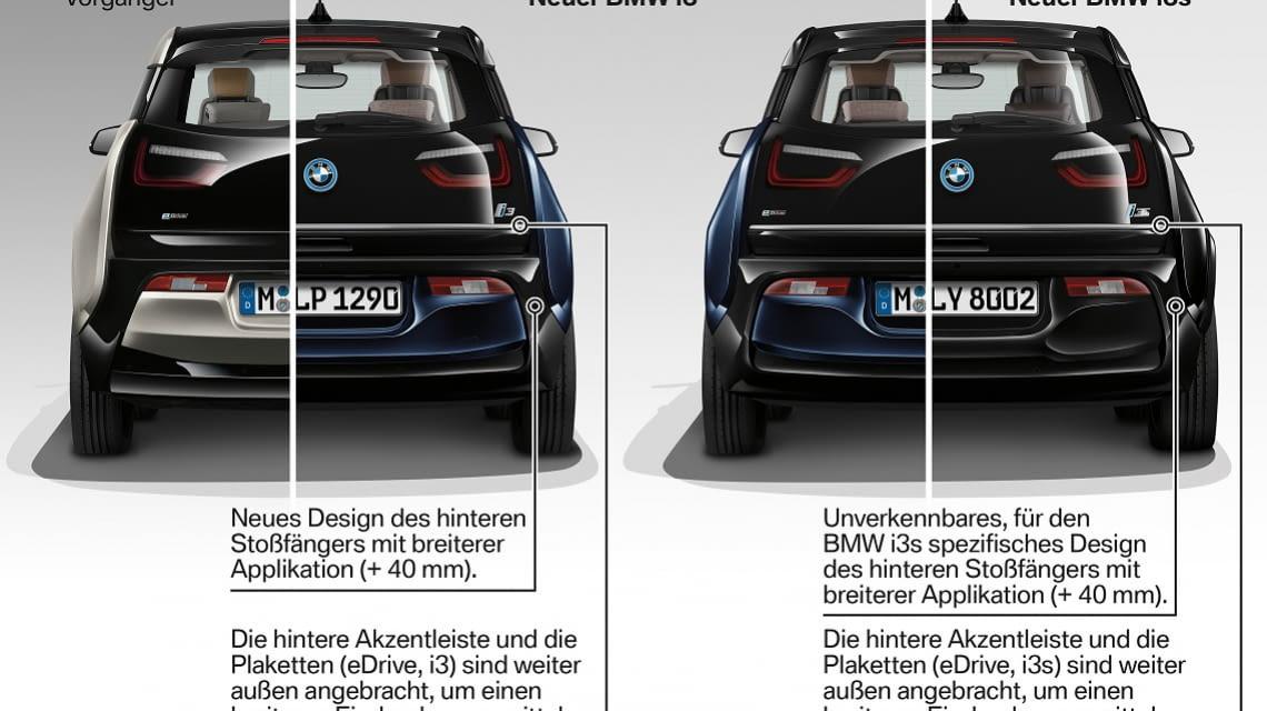 Der BMW i3s kostet im Vergleich zum BMW i3 etwa 4.000 Euro mehr