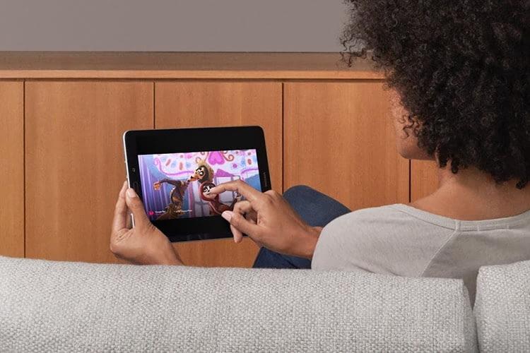 Verfügt eine App über Cast-Funktion lässt sich der Bildschirm auf den Chromecast-TV spiegeln