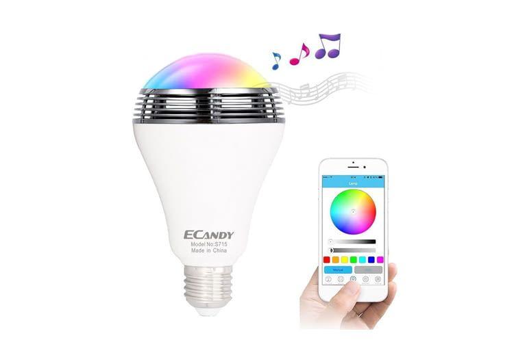Bei diesem Gadget lässt sich die Beleuchtung der Musik anpassen