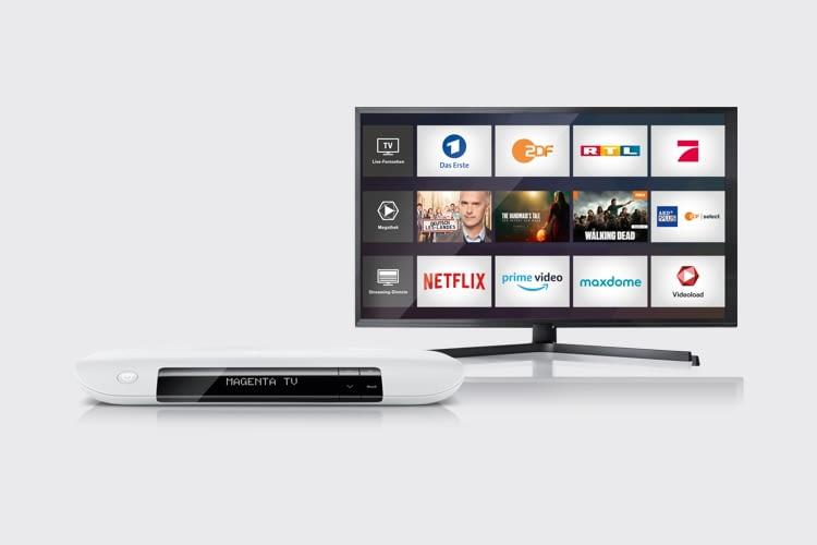 MagentaTV ist auch im Servicepaket mit einem Telekom Breitband-Anschluss buchbar