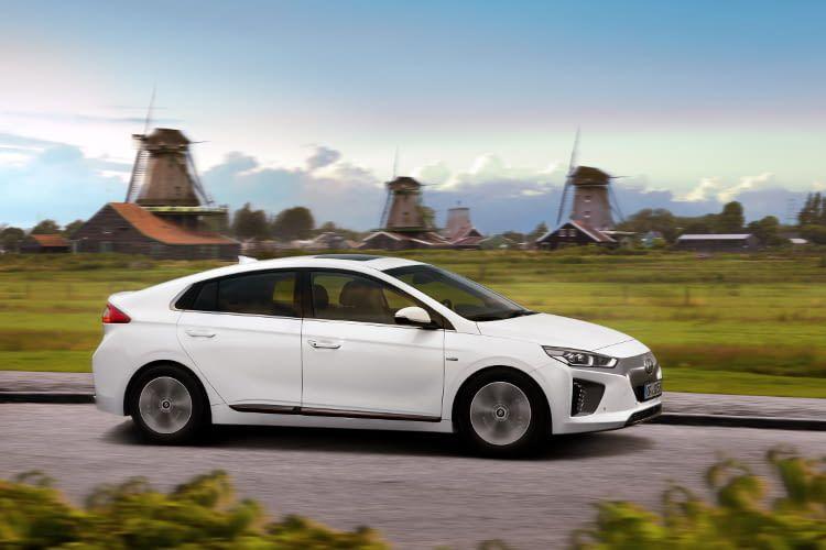 Hyundai IONIQ Elektro das erste vollelektrische Auto vom dem koreanischen Hersteller