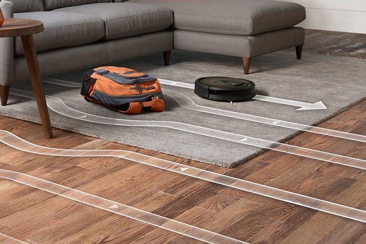 iRobot Roomba 980 Saugroboter saugt systematisch statt chaotisch