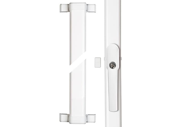 Auch für schmale Fenster als Nachrüstlösung geeignet: Fensterstangenschlösser