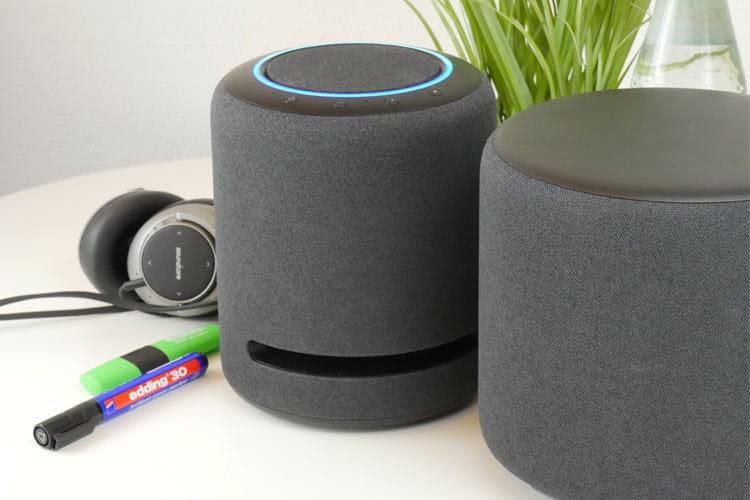 Amazon Echo Sub sorgte im Test von Echo Studio für einen vibrierenden Niederfrequenzteppich