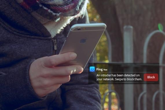 Fingbox sichert Heimnetzwerk