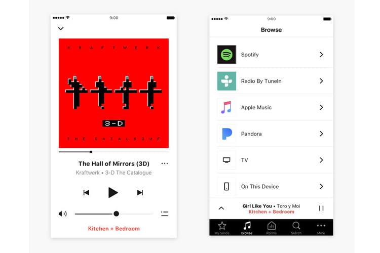 Die Sonos App ist umfangreich und trotzdem gut bedienbar