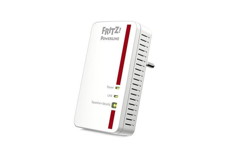 Der 1000E Zwischenstecker erweitert das Heimnetz über die Stromleitung mit bis zu 1.200 MBit/s