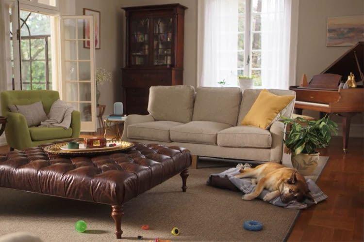 Nest Audio fällt aufgrund seines edlen Designs in modernen Wohnräumen kaum auf