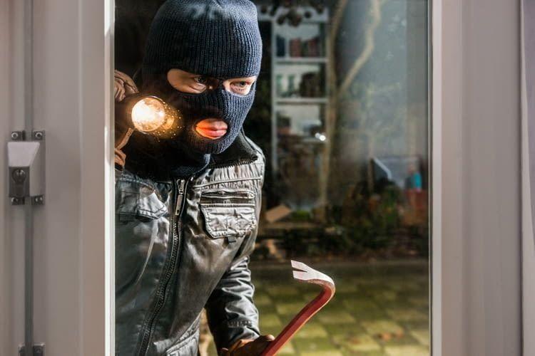 Offensichtliche Sicherheitsmaßnahmen können Einbrecher abschrecken