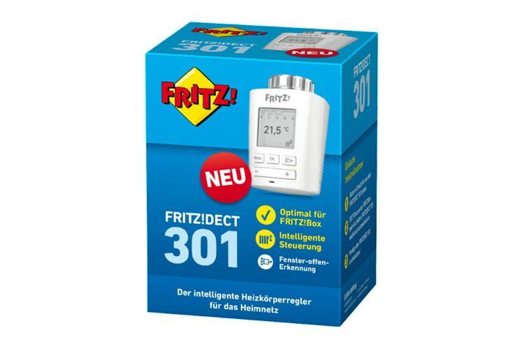 FRITZ!DECT 301 ist bei einer Umgebungstemperatur von 0°C bis 50°C einsetzbar