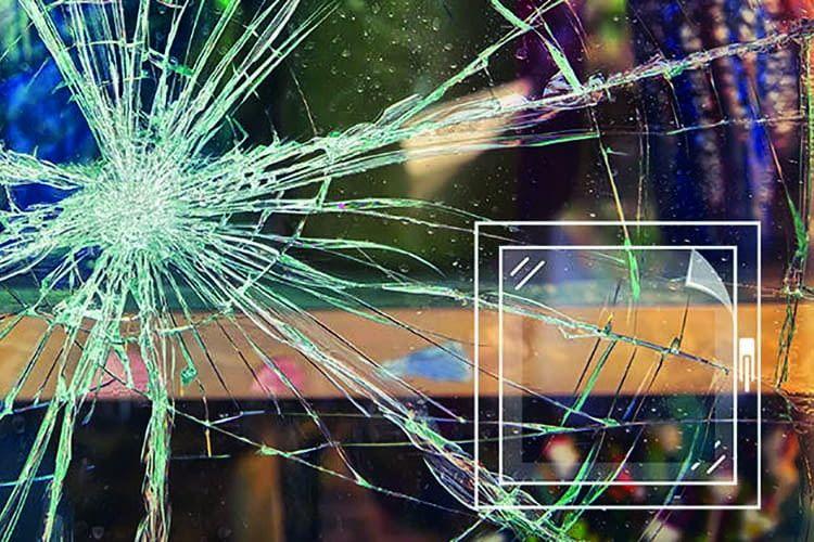 Die angriffshemmende ABUS Fensterfolie AFF 152 setzt Einbrechern einen Zeitwiederstand entgegen