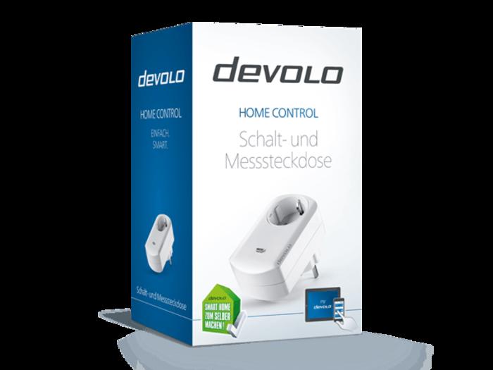 devolo Home Control Schalt- und Messsteckdose