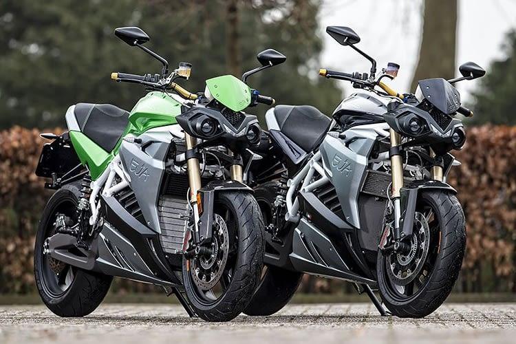 Mit dem E-Motorrad schließen sich Fahrspaß und Umwelbbewußtsein nicht aus.