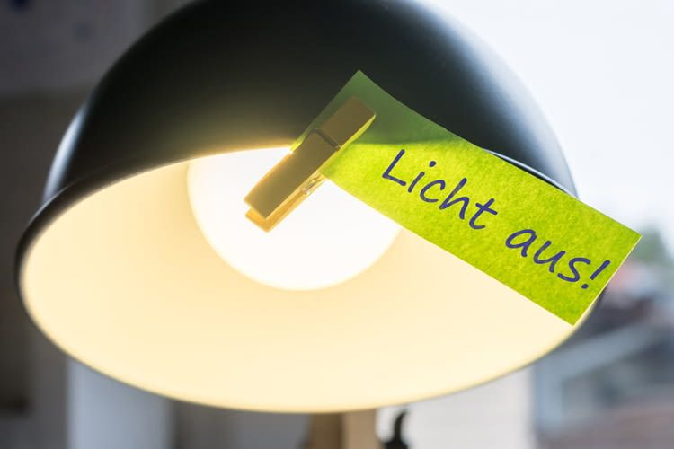 Strom sparen fängt bei kleinen Dingen an und ist leicht umzusetzen