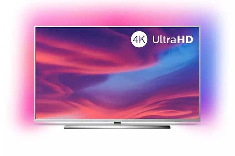 Der Philips Ambilight Fernseher 50PUS7354-12 ist ein Tv in der 50 Zoll Sondergröße