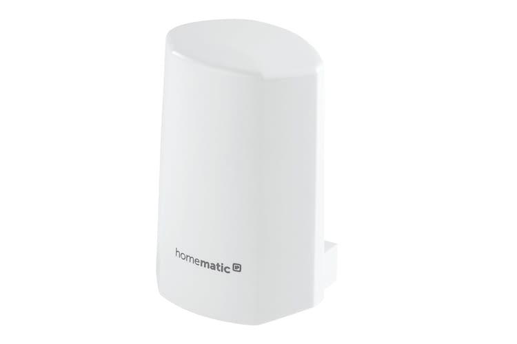 Den Homematic IP Temperatur- und Luftfeuchtigkeitssensor gibt es auch in anthrazit