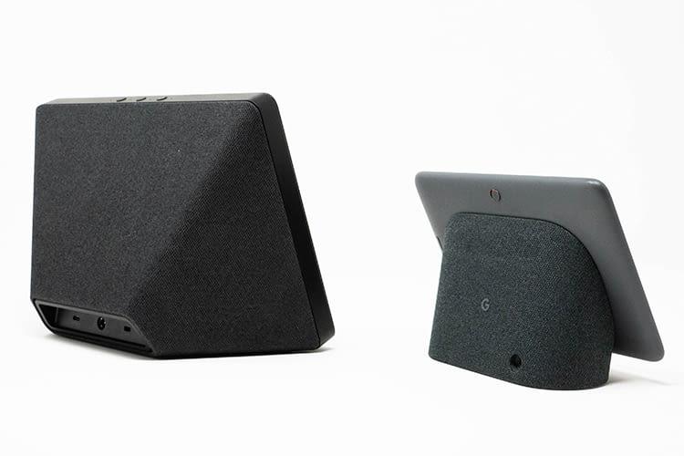 Der Google Nest Hub ist mit 7-Zoll deutlich kleiner als Amazon Echo Show 2 mit seinen 10,1-Zoll