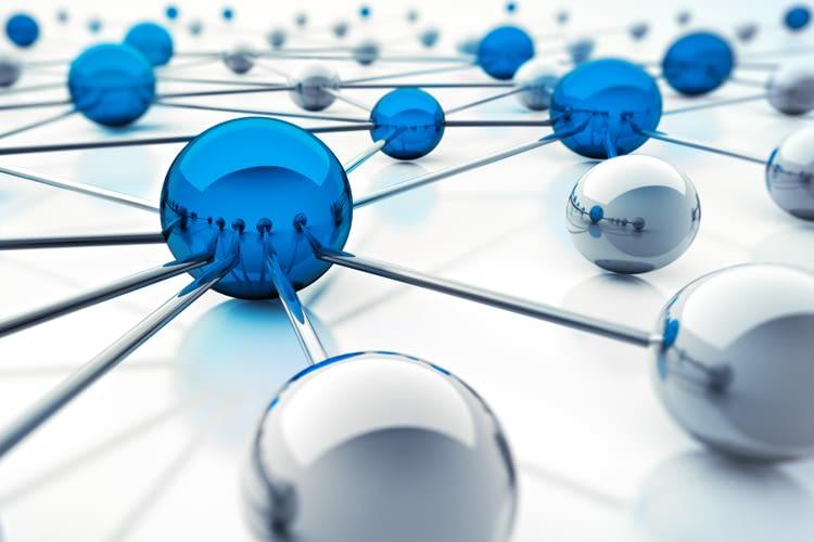 In einem vermaschten Netzwerke sind alle Geräte miteinander verbunden (Symbolbild)