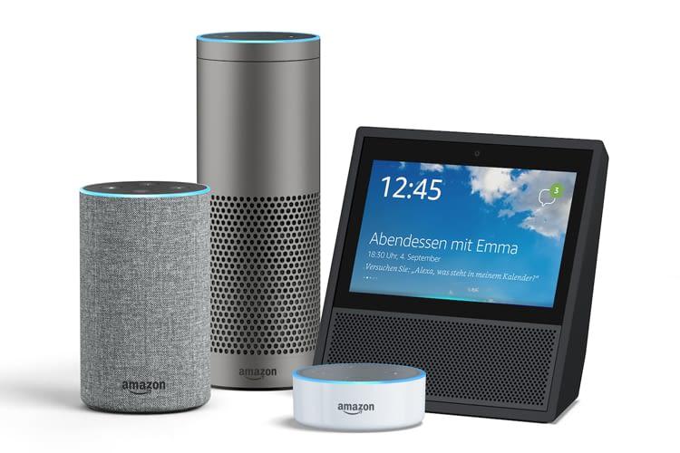 Amazon übernimmt das Smart Home mit Echo 2, Echo Plus, Echo Show und Dot