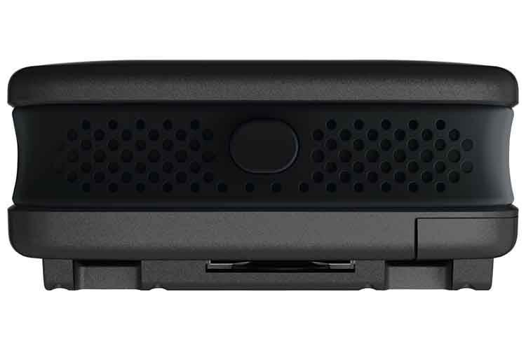 Die ABUS Alarmbox ist nur ungefähr so groß wie ein Stück Seife und schreckt Diebe und Einbrecher ab