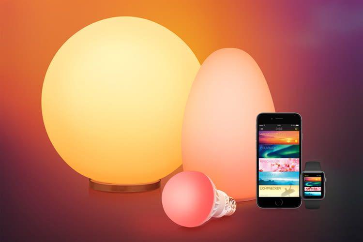 Einige smarte Lampen (z. B. Elgato Avea) sind auch per Apple Watch steuerbar