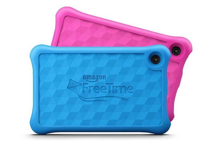 Käufer des Fire Kids Edition Tablets enthalten eine speziell designte Kinder-Hülle