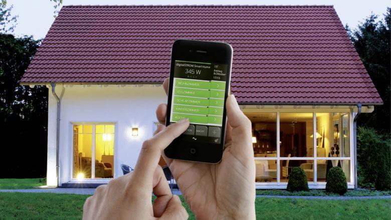Mit der DigitalSTROM App lässt sich das ganze Haus steuern