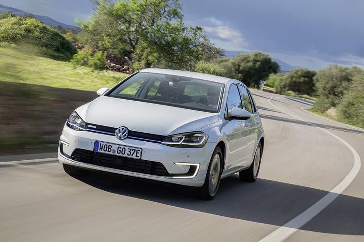 Der e-Golf von VW findet sich auf Platz 10 unseres Reichweiten Vergleichs