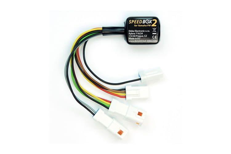 Die Speedbox2 lässt sich per Lichttaste aktivieren