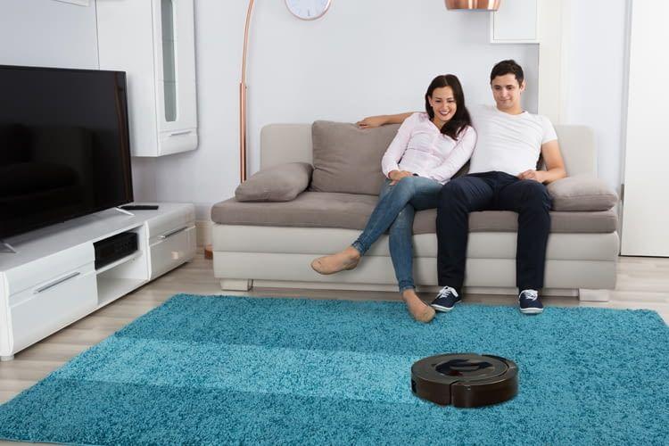 Nicht jeder Saugroboter kommt gut mit Teppichen klar
