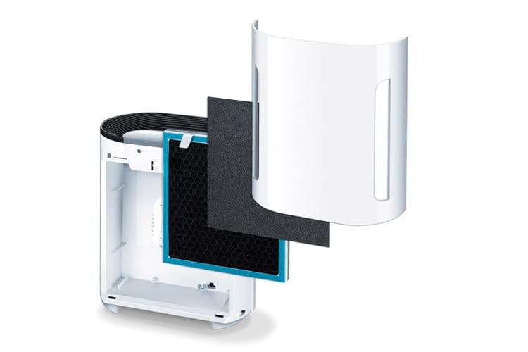 3-Stufen-Filter mit Ionisator: Luftreiniger Beurer LR 200